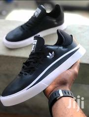 Adidas Trainers-Black White Sole | Shoes for sale in Greater Accra, Ga East Municipal