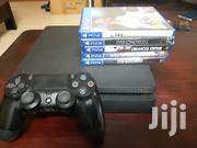 PS4 Slim 500gb With 5 Game Cd And 1 Controller | Video Game Consoles for sale in Greater Accra, Adenta Municipal