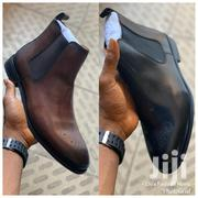 Executive Ankle Leather Boots | Shoes for sale in Greater Accra, Ga East Municipal