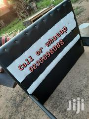 Black and White Leather Bed | Furniture for sale in Greater Accra, Kanda Estate