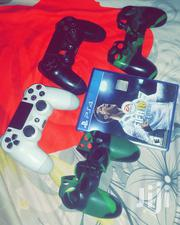 Ps4 Controllers With Fifa 18 Disc And Covers | Video Game Consoles for sale in Brong Ahafo, Tain