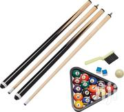Pool Table Full Set Collection Sticks Balls | Sports Equipment for sale in Greater Accra, East Legon