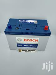17 Plates Bosch Car Battery 4X4 SUV + Free Delivery | Vehicle Parts & Accessories for sale in Greater Accra, Abelemkpe
