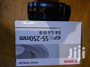 Canon EF-S 55-250mm F/4-5.6 Zoom Lens NEW | Accessories & Supplies for Electronics for sale in Central Region