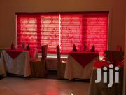 Deep Red Zebra Curtains Blinds | Home Accessories for sale in Greater Accra, Ashaiman Municipal