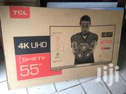 TCL LED55P3CUS Curved 4K Ultra HD Smart TV 55 Inches | TV & DVD Equipment for sale in Greater Accra, Adabraka