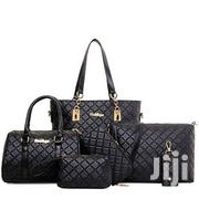 6 In 1 Leather Handbag - Black | Bags for sale in Greater Accra, East Legon