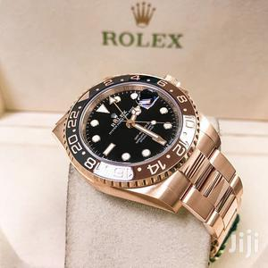Rolex GMT MASTER II (Rose Gold)