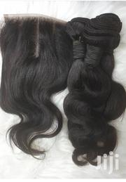 Brazilian 12 Inches With Closure | Hair Beauty for sale in Greater Accra, Osu