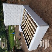 Brand New White Bed and Side Drawers | Furniture for sale in Greater Accra, Dzorwulu