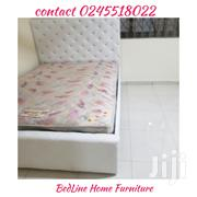 Brand New Turkish Design Bed Frame With Mattress ❤❤🖤🖤 | Furniture for sale in Greater Accra, Labadi-Aborm