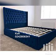 Proper King Size Beds Very Neat Stuffing | Furniture for sale in Greater Accra, Abelemkpe
