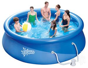 13ft Inflatable Swimming Pool With Ladder