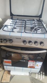 Stainless Steel Scanfrost 60x60 4 Burner Cooker With Oven And Grill | Kitchen Appliances for sale in Greater Accra, Accra Metropolitan