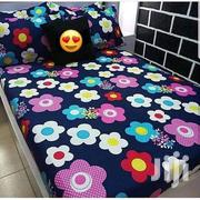Queen Size Bed Sheet With Four Pillow Cases | Home Accessories for sale in Greater Accra, North Kaneshie
