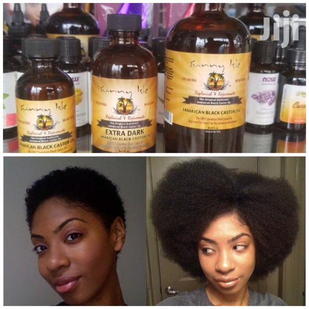 Extra Dark Jamaican Black Castor Oil.