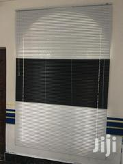 White and Black Venetian 🤩 Curtains Blinds   Home Accessories for sale in Greater Accra, North Ridge