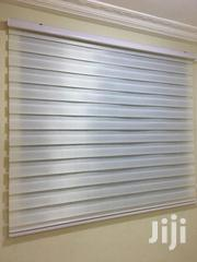 Cloudy White Zebra Curtains Blinds | Home Accessories for sale in Ashanti, Offinso Municipal
