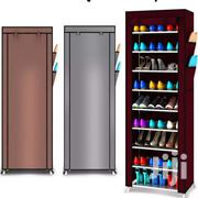 9 Tier Shoe Shelves Canvas Shoe Stool Storage Wardrobe | Furniture for sale in Greater Accra, Accra Metropolitan