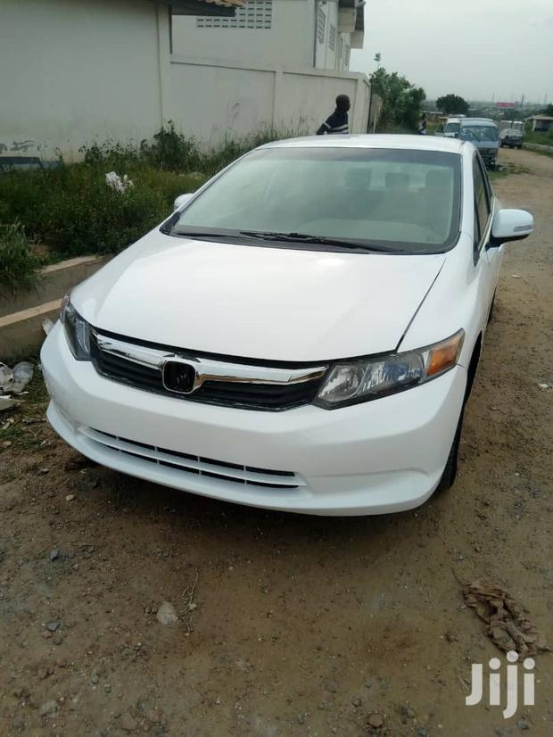 Archive: Honda Civic 2012 EX-L Sedan White
