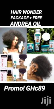 Original Hair Wonder Set + Free Andrea Oil Promo | Hair Beauty for sale in Greater Accra, Accra Metropolitan