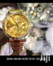 Original Oyster Pepertual Gold Rolex Watch | Watches for sale in Greater Accra, Dansoman