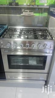 Silver and Stainless Nasco 80x60cm 5 Gas Burner | Kitchen Appliances for sale in Greater Accra, Kokomlemle