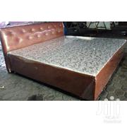 Leather King Bed | Furniture for sale in Greater Accra, Ga West Municipal