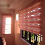 🧡🧡 Orange Zebra Curtains Blinds | Home Accessories for sale in Greater Accra, Teshie-Nungua Estates
