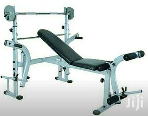 Fine Multifunction Bench Press With 50Kg Weight Gmtry Best Dining Table And Chair Ideas Images Gmtryco