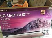 Lg 55Inches Uhd 4K AI THINQ SMART Dvbt2s2 Active Hdr Led Tv | TV & DVD Equipment for sale in Greater Accra, Adabraka