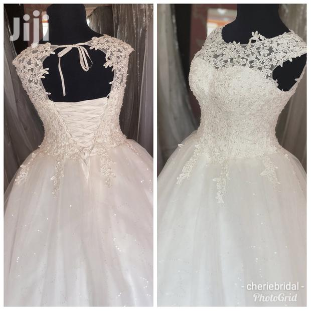 Ball Gown With Veil And Underskirt
