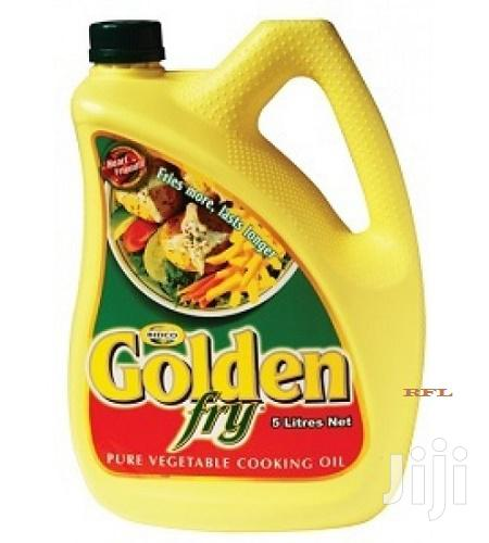 Golden Fry Pure Vegetable Oil 5L