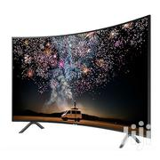 Samsung UA49RU7300 49inches Smart Wifi UHD 4K Curved Multisystem LED TV   TV & DVD Equipment for sale in Greater Accra, Adabraka