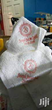 Embroidery On Towel | Computer & IT Services for sale in Greater Accra, Nungua East