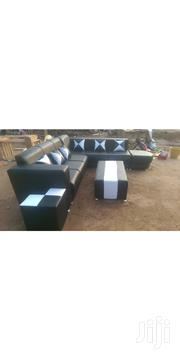 Quality Leather LSP Sofa Chair And 7 Sitters Quality Made | Furniture for sale in Greater Accra, Achimota