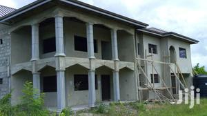 10 Rooms Uncompleted Two Storey House for Sale Near Takoradi