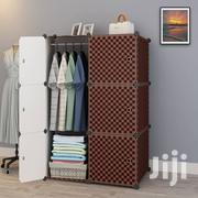 6 Cubes Wardrobe Brown   Furniture for sale in Greater Accra, Tesano