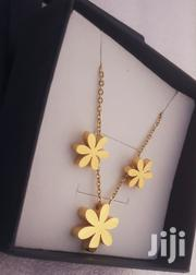 Gold Necklace With Earrings | Jewelry for sale in Greater Accra, Achimota