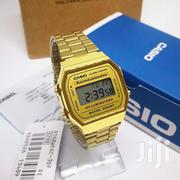 Casio Vintage Gold 3ATM Stainless Strap Digital Watch | Watches for sale in Greater Accra, Achimota