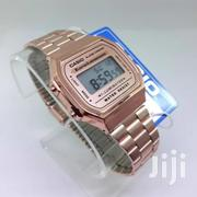 Rose Gold Fashion Stainless Casio Vintage Watch | Watches for sale in Greater Accra, Achimota