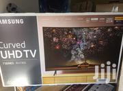 Sleek Slim Design Samsung 49inches Curved Smart 4K UHD TV | TV & DVD Equipment for sale in Greater Accra, Adabraka