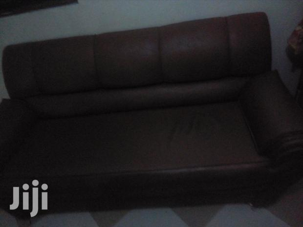 Archive: Full Set of Leather Chairs for Sale