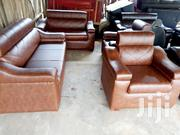 Quality Leather Set.Free Delivery🍓 💗❤️ | Furniture for sale in Greater Accra, Akweteyman