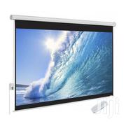 Click Projector Electric Screen 240 X 240 | TV & DVD Equipment for sale in Greater Accra, Accra Metropolitan