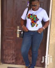African Print T-Shirt | Clothing for sale in Greater Accra, Adenta Municipal