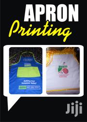 Apron Printing | Computer & IT Services for sale in Greater Accra, Osu
