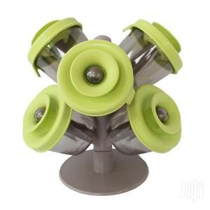 Spice Rack - 6 Pieces Green