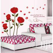 Romantic Rose Flower Wall Sticker | Home Accessories for sale in Greater Accra, East Legon