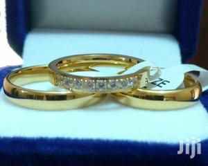 3set 18k Gold Filled Wedding Rings
